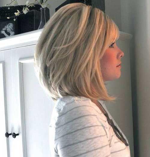 Der Lob, oder Langer Bob oder, für uns Italiener, der lange Bob: eine sehr modische Frisur, ohne eine minimale Länge der Haare aufzugeben. - Neueste frisuren | bob frisuren | frisuren 2018 - neueste frisuren 2018 - haar modelle 2018