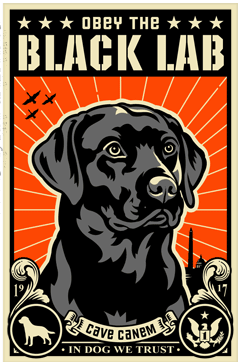 If Shepard Fairey Joined PETA: Obey The Pure Breed Posters