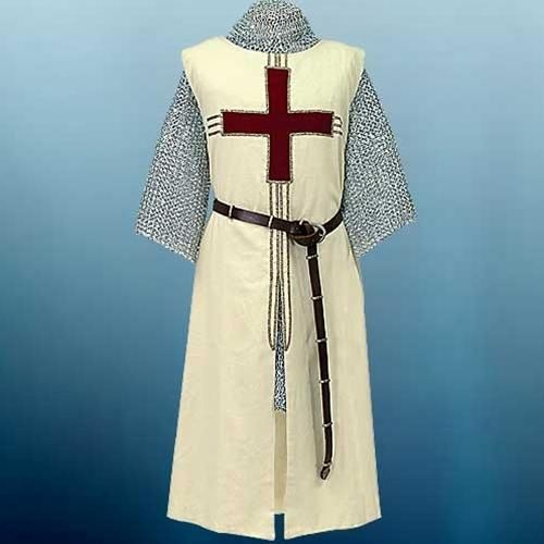 Medival Costume Surcoat and Shirt 4 Colours Middle Ages SCA Larp Reenactment