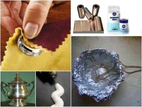 7 astuces efficaces pour nettoyer l 39 argent chez soi informatique pinterest cleaning tips. Black Bedroom Furniture Sets. Home Design Ideas