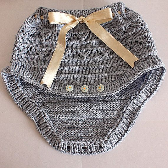 Knitting Pattern (pdf File) Baby Pants