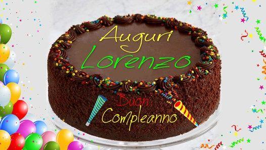 Tanti Auguri Di Buon Compleanno Lorenzo Gaspare