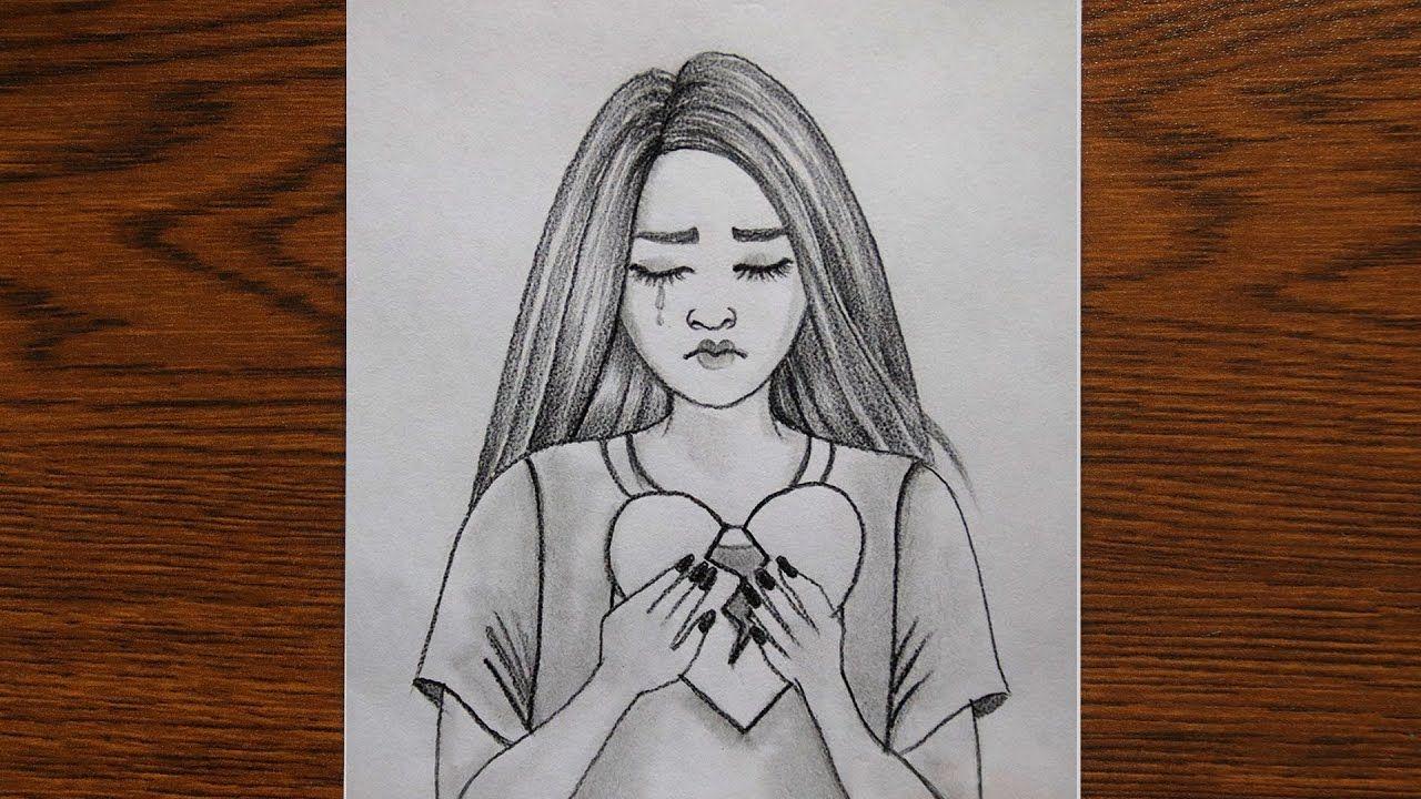 Pin On Girl Drawing
