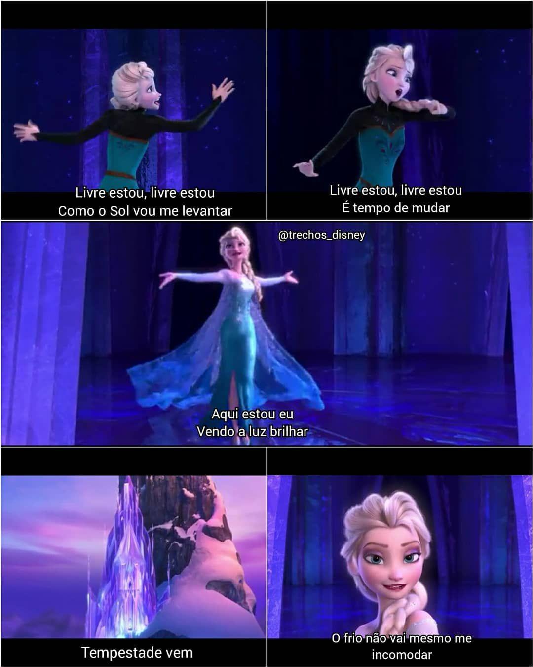 Trechos Disney Disney Disney Movies Frozen Let It Go