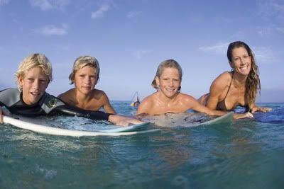 John John Florence Family Surfing John John Florence Hot Tub