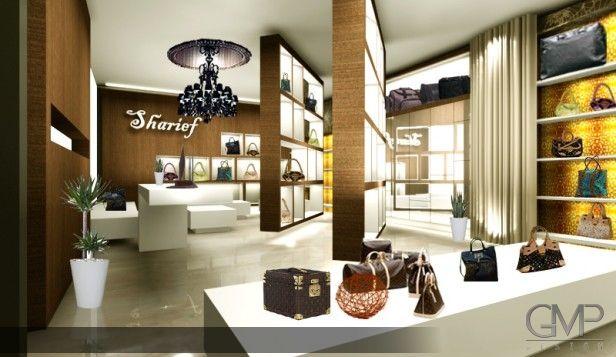 Shareif, Boutique Luggage Shop Showcase | GMP Designs | Pinterest ...