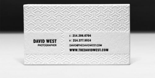 the elegant business cards of david west crdna business the elegant business cards of david west reheart Choice Image
