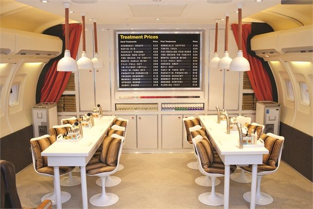 plane salon nail salon designnail salon decorbest - Nail Salon Interior Design Ideas