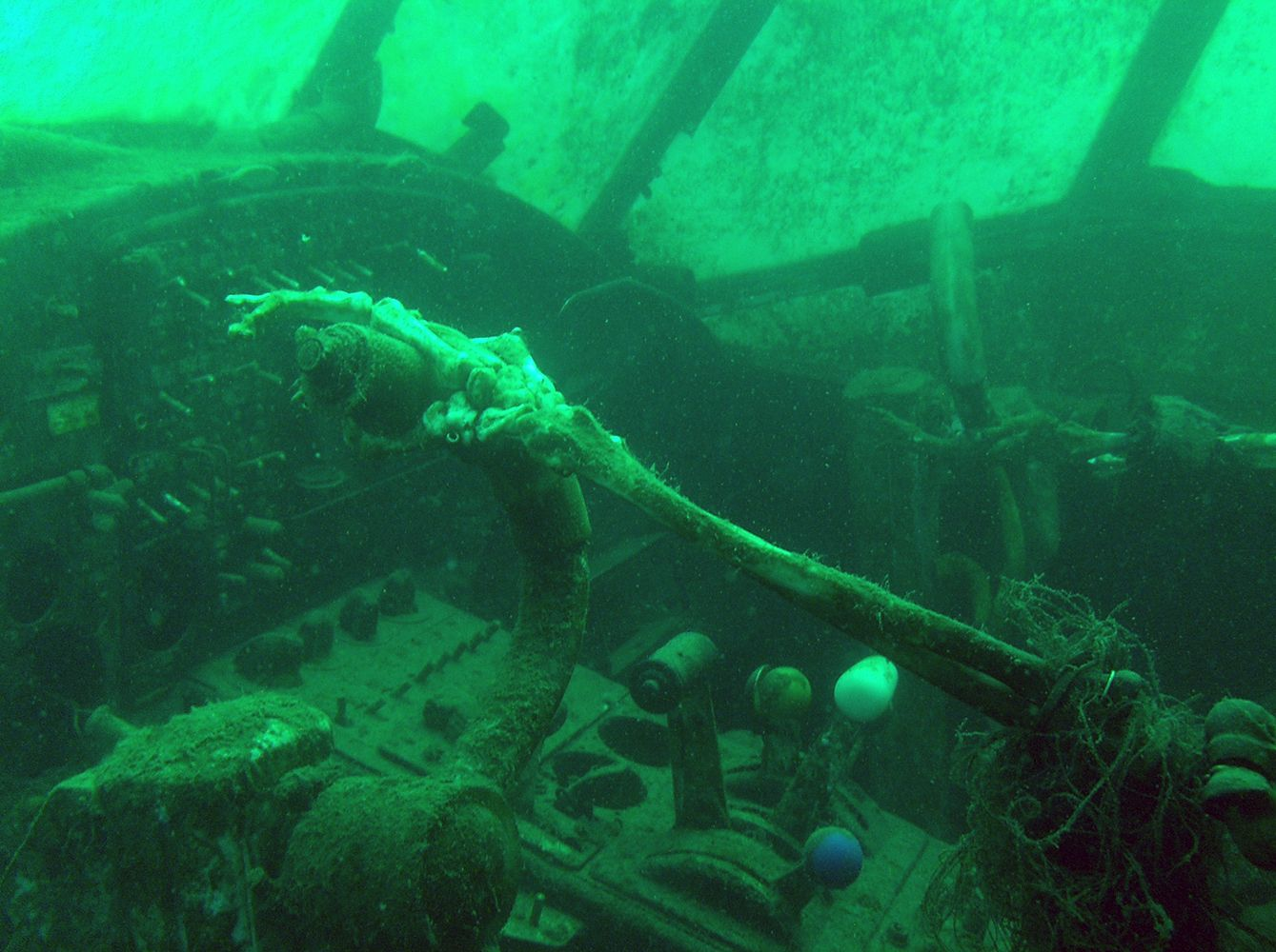 """Koparki"", Jaworzno, PL Underwater plane wreck   Podwodny ..."