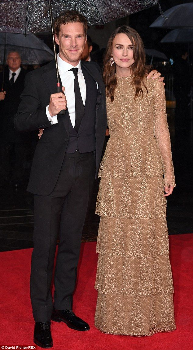 Leading the way: Benedict Cumberbatch and Keira Knightley were both announced among nomine...