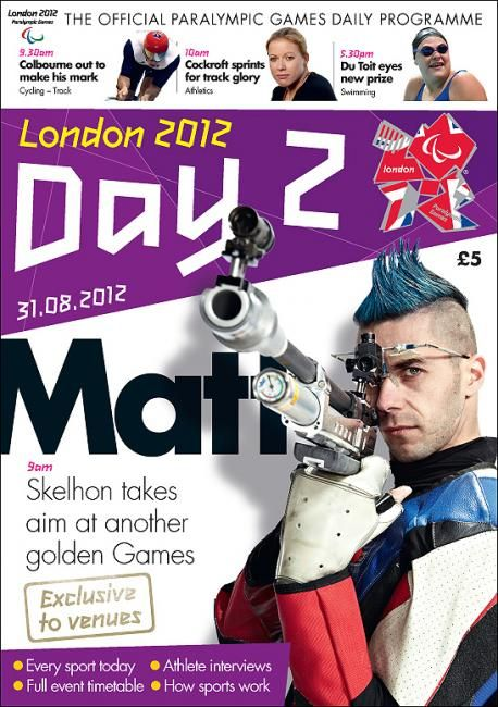 Paralympics: Official London 2012 Daily Programmes