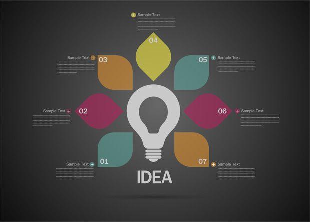 Cinco Plantillas De Infografías Para Presentar Ideas Y Otros