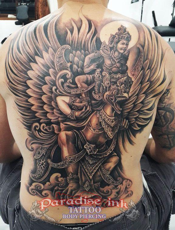 garuda vishnu tattoo paradise ink tattoo bali pinterest tattoo and tatting. Black Bedroom Furniture Sets. Home Design Ideas