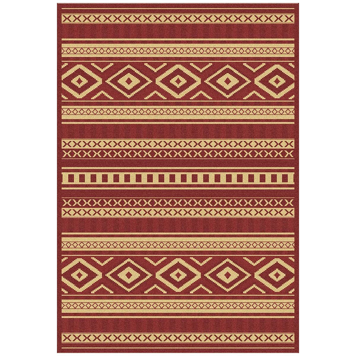 Dynamic Rugs Piazza 4463-3707 Red Area Rug