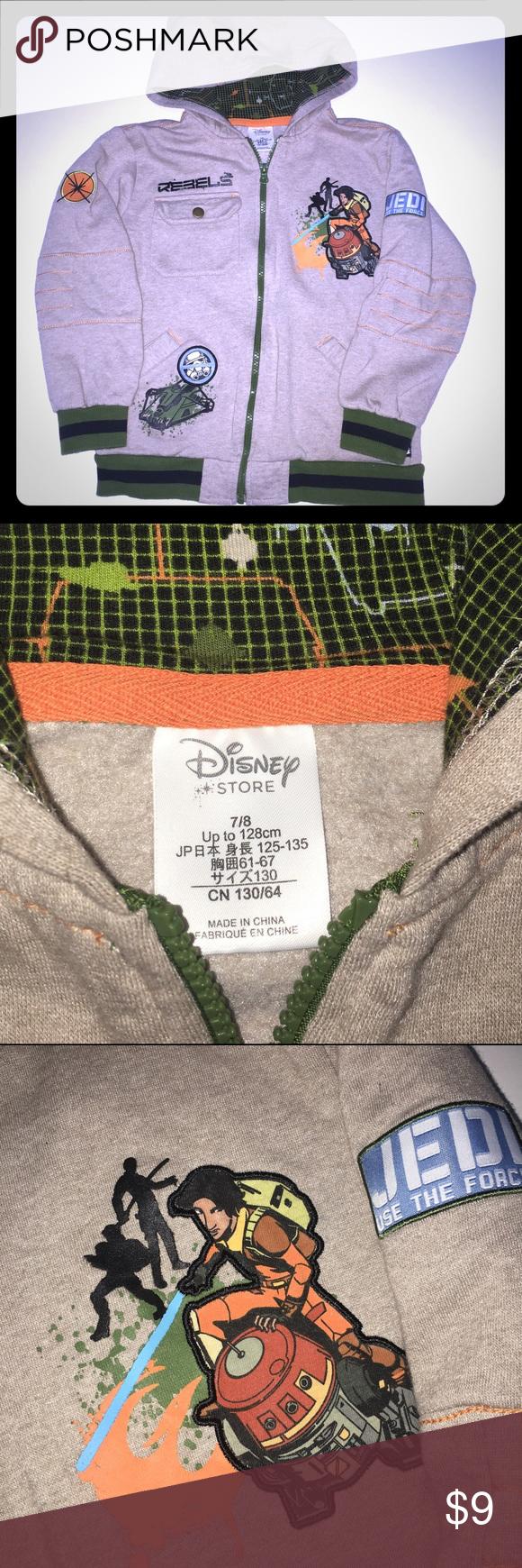 Boys character hoodie In excellent condition Disney Shirts & Tops Sweatshirts & Hoodies
