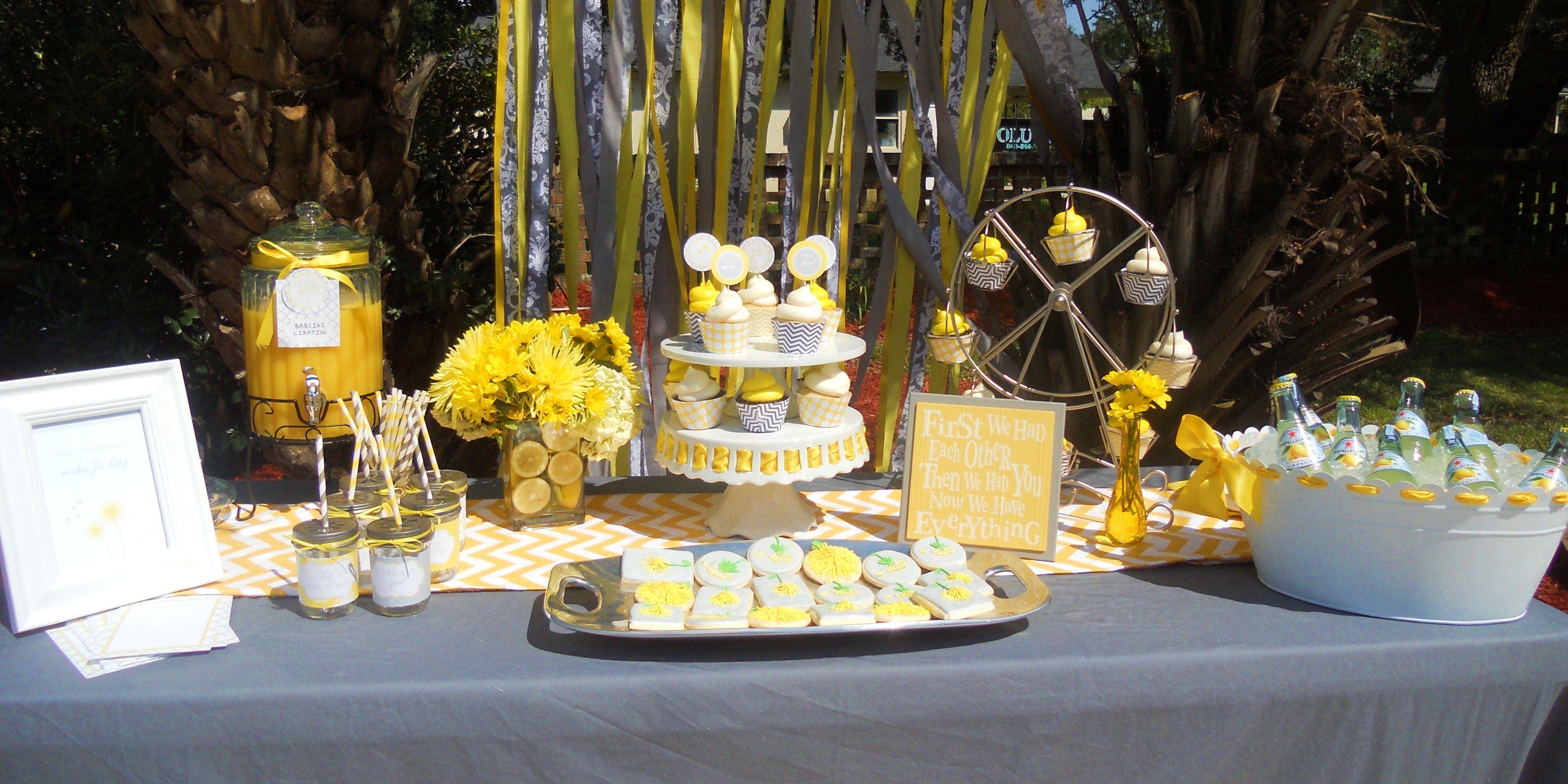 Dandelion Bedspread Set, Abstract Flower Celebration Theme ... |Dandelion Baby Shower Theme