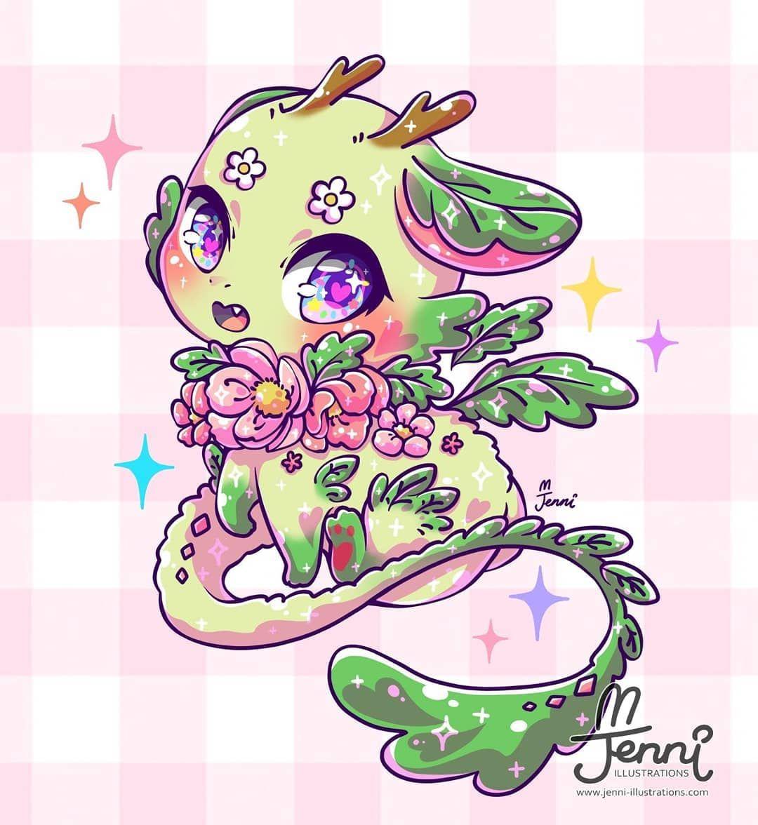 Dragon Cute Dragon Drawing Cute Kawaii Drawings Kawaii Drawings