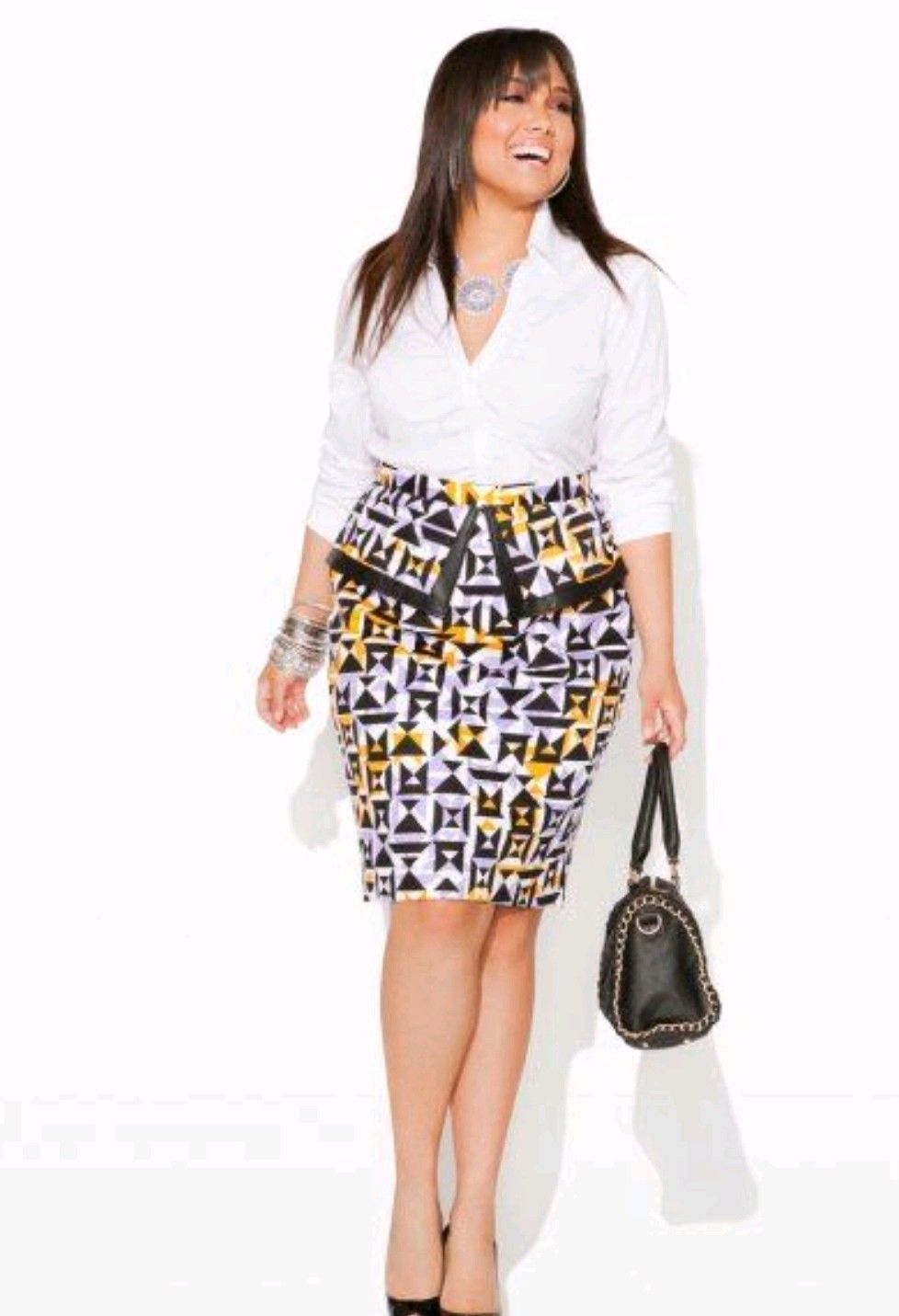 pencil skirt classic at office pinterest mode africaine mode africaine femme et pagne. Black Bedroom Furniture Sets. Home Design Ideas