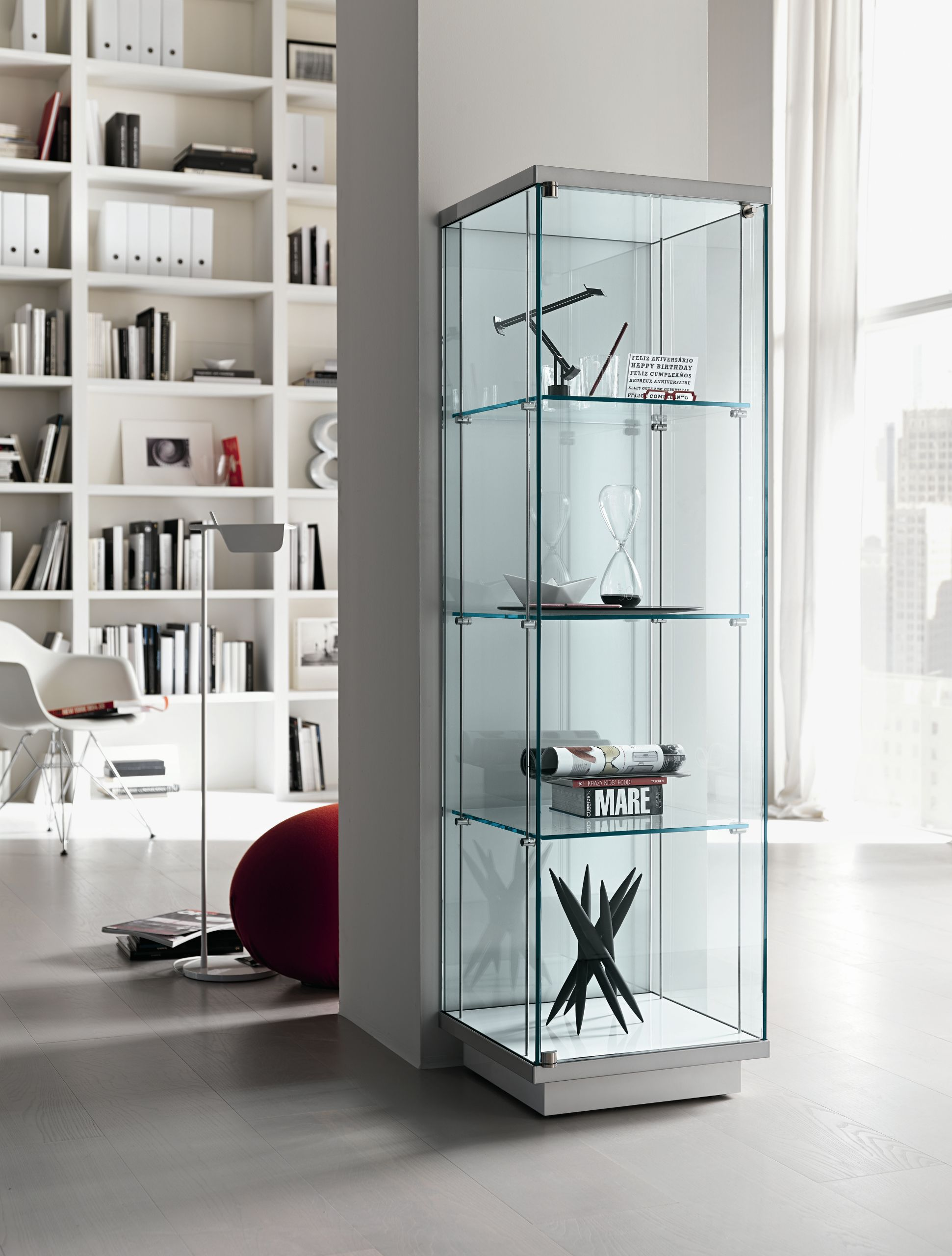 glass display cabinet broadway