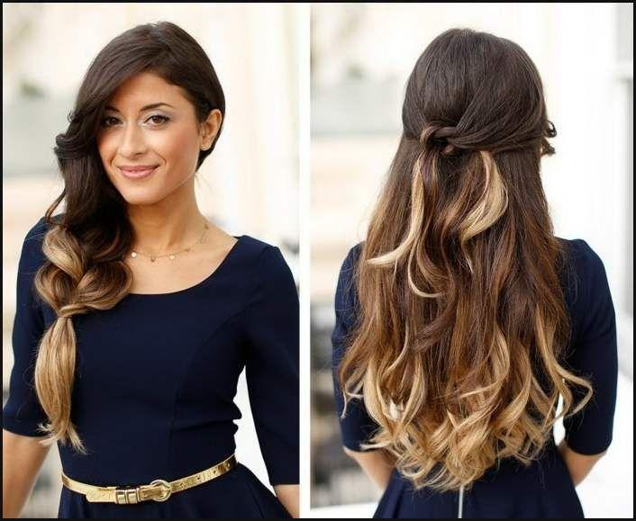 Einfache Frisuren Mit Locken Schöne Neue Frisuren Zu Versuchen