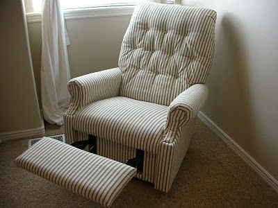 Do It Yourself Divas Diy Reupholster An Old La Z Boy Recliner Slipcovers For Chairs Reupholster Furniture Cheap Couch