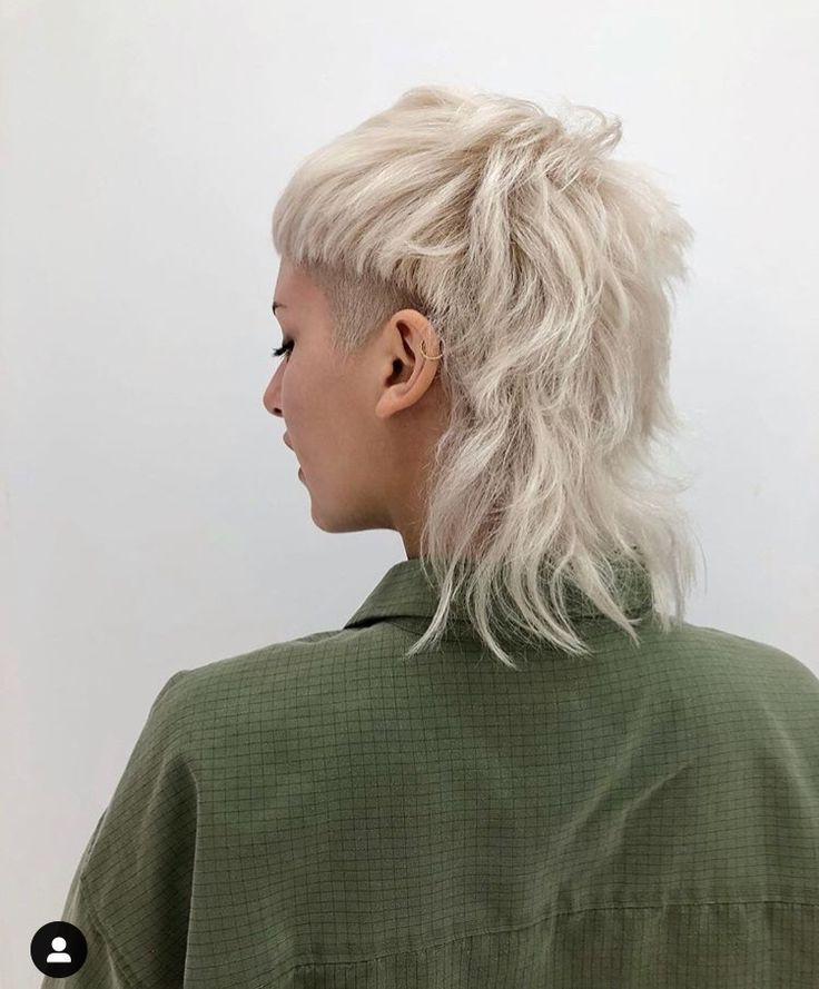 Fashion Vokuhila Frisur Punk Haarschnitt Frisur Ideen