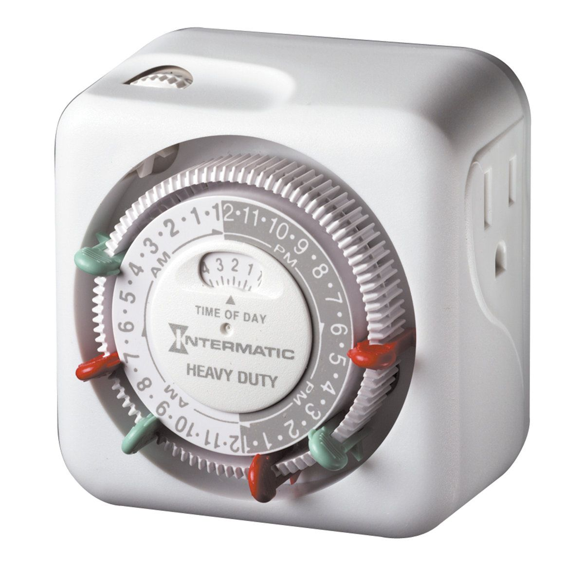 For 15 99 Heavy Duty Grounded Timer Indoor Use Timers With Outdoor Lighting To Ensure Your Lights Turn On At Dusk Timer Home Security Tips Digital Timer