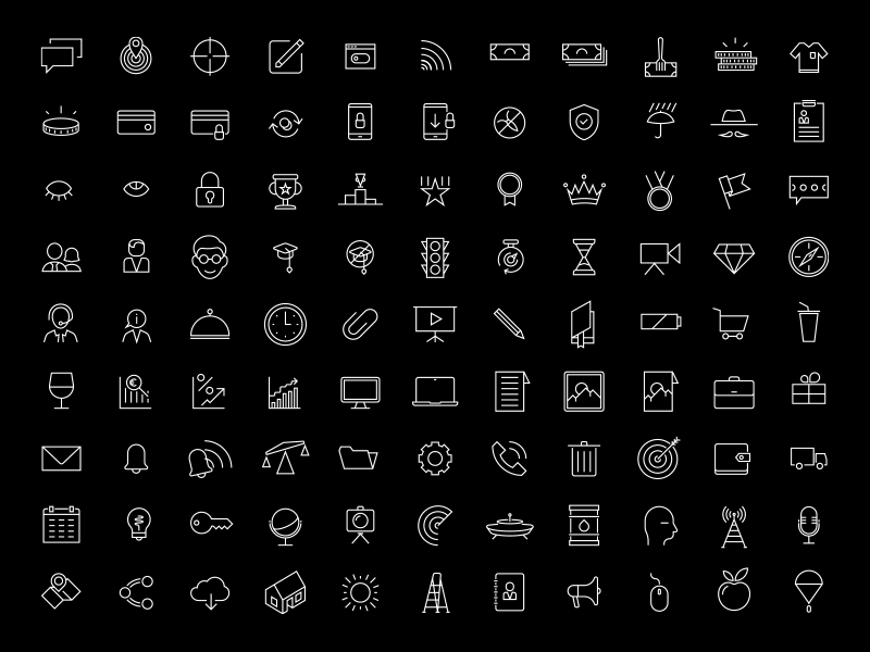 Line icons for free | Line icon, App icon design, App icon