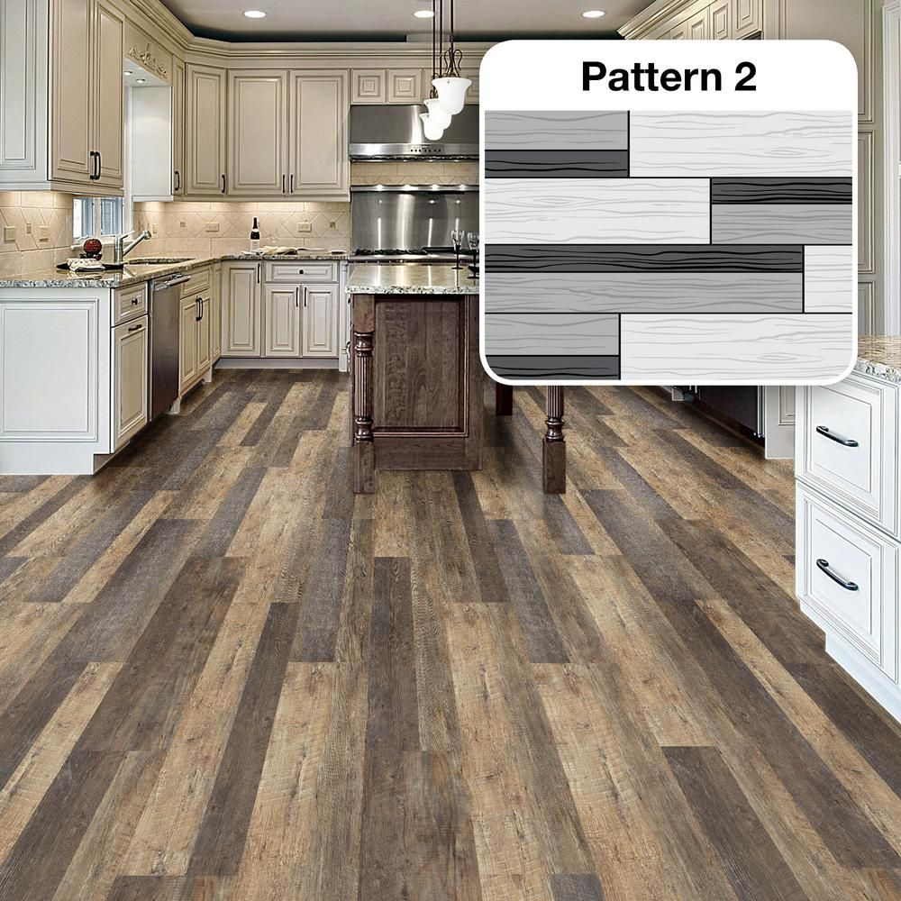 MultiWidth x 47.6 in. Stafford Oak Luxury Vinyl Plank