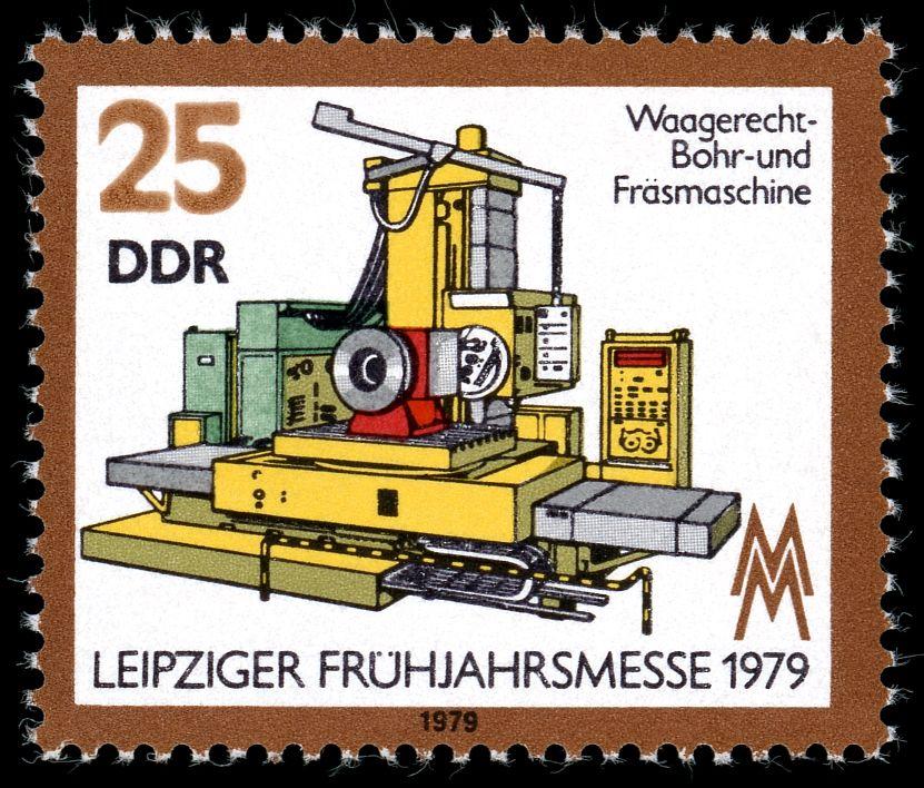 Stamps of Germany (DDR) 1979 Leipziger Frühjahrsmesse