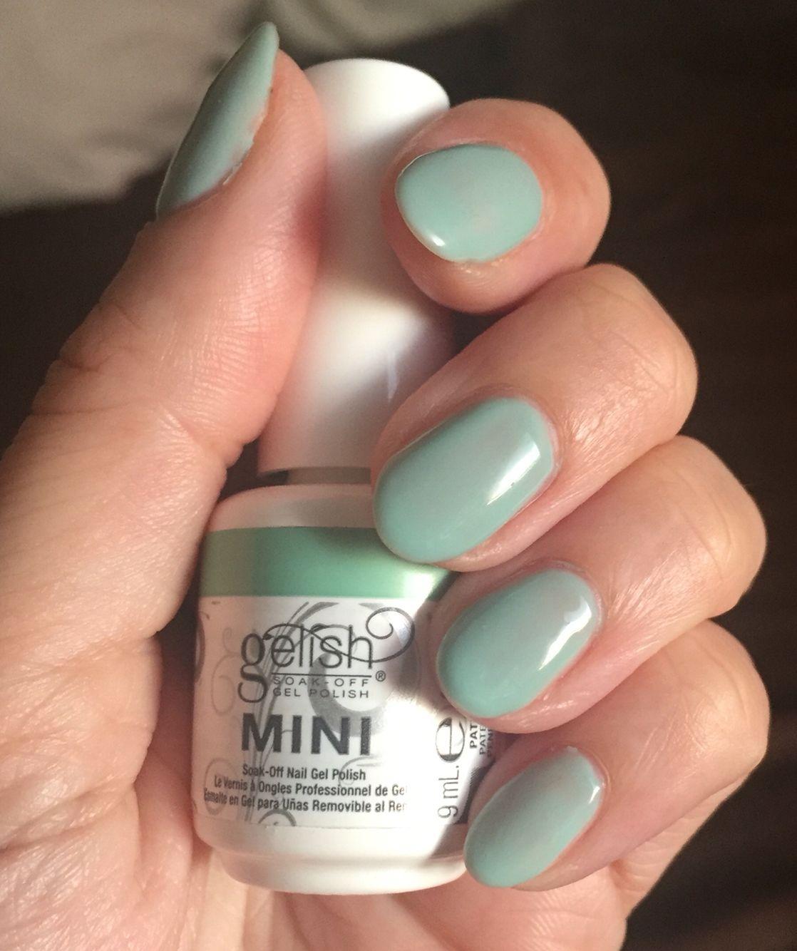 Gelish Sea Foam Gel Nail Polish Gel Nail Polish Set Gel Manicure Nails