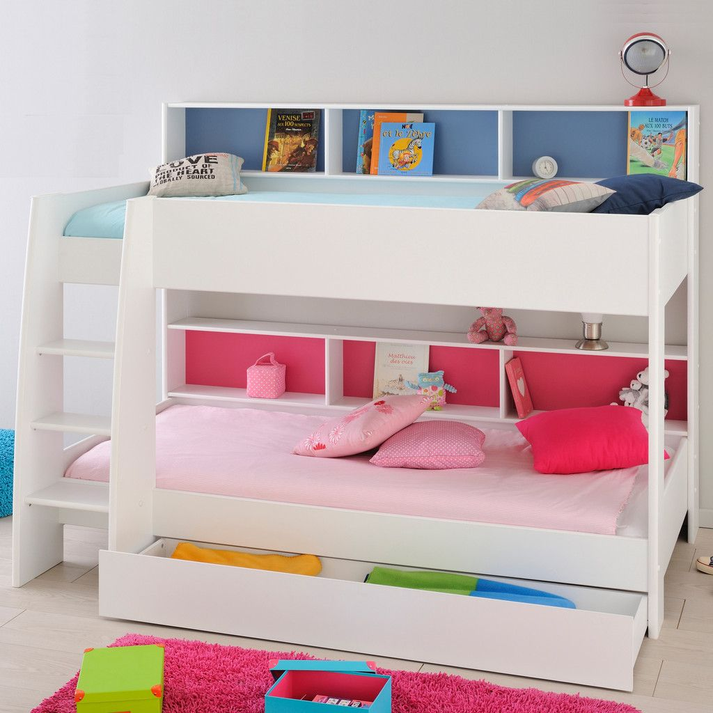 The Tam Tam Bunk Bed From Parisot Has A Simple Clean Style And A Real  Feeling
