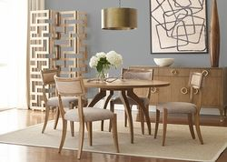 The new Artherton dining collection from Brownstone Furniture.  http://www.moderndomicile.com/dining11.html