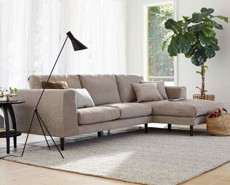 Scandinavian L Shape Sofa Interior Design For Little Square Living Space Scandinavia Vs Nordic I Living Room Furniture Layout Living Room Furniture Furniture