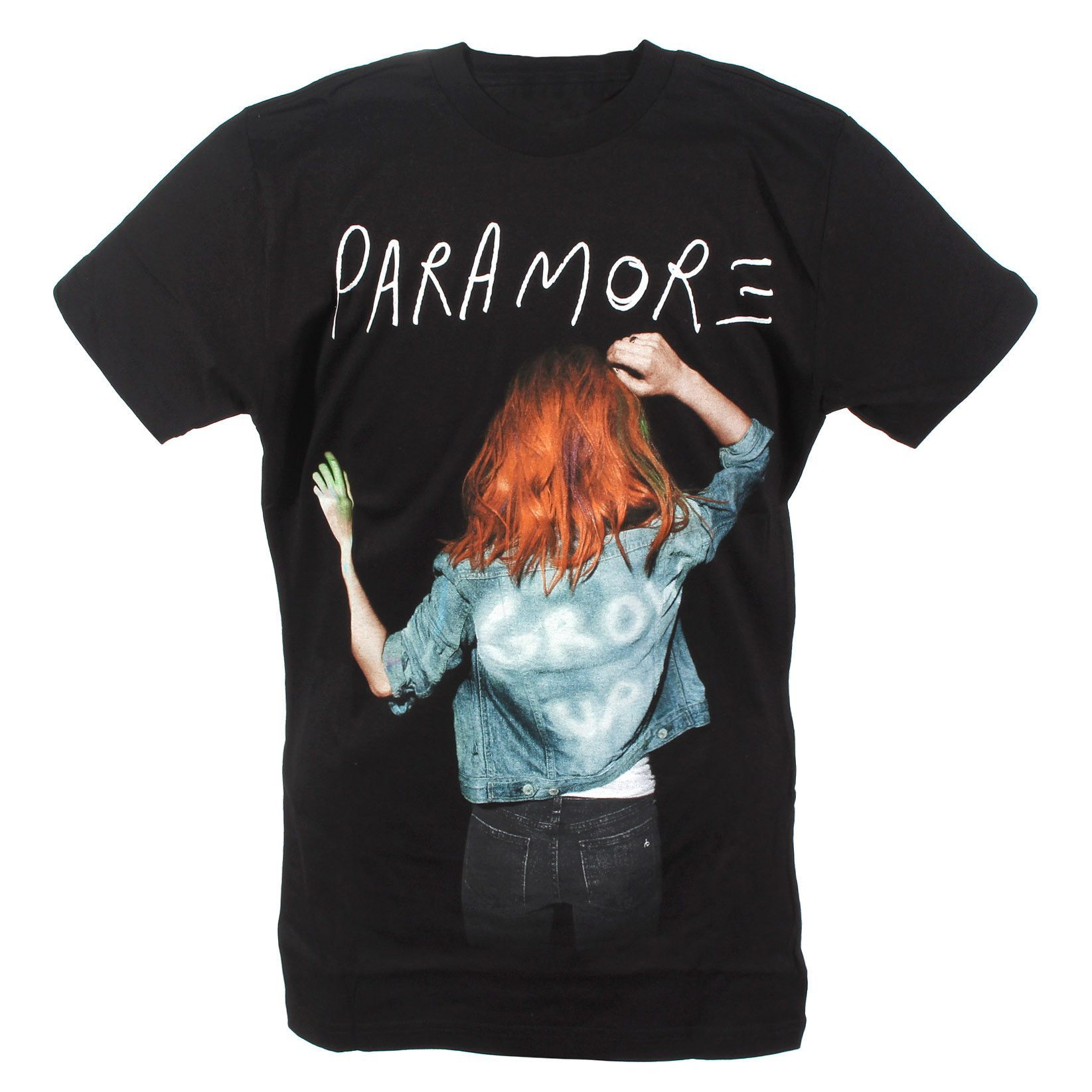 30bee10cc23eb Hot Topic Men s Paramore Grow Up Slim-Fit T-Shirt