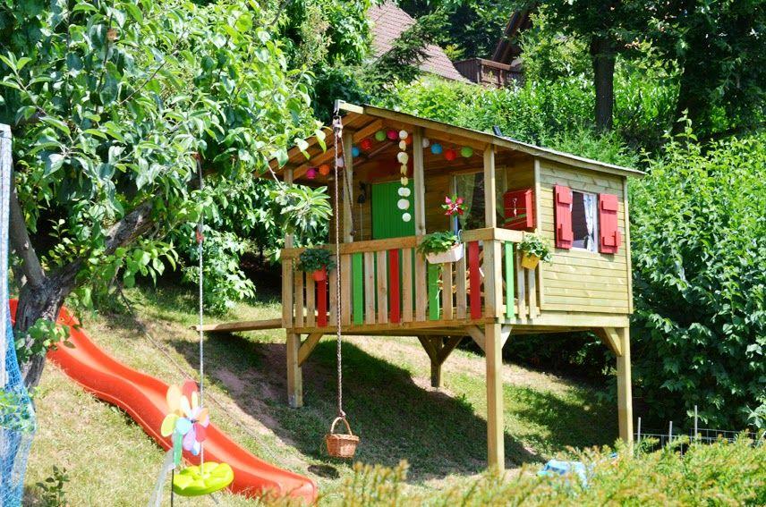 Kinderspielhaus im Garten Tipps zur Einrichtung