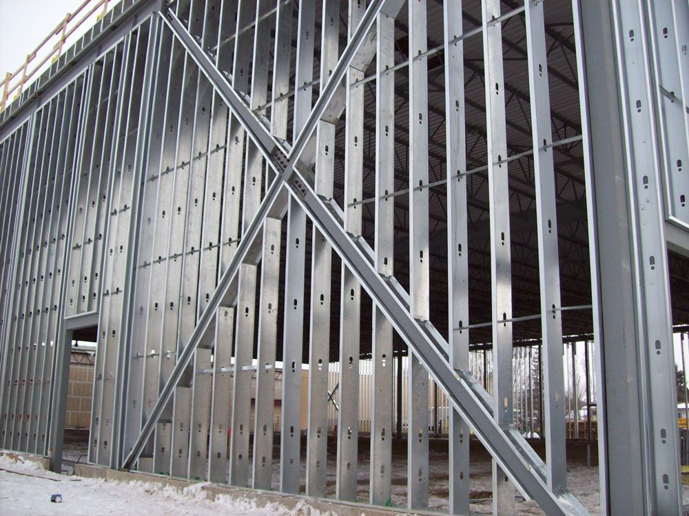Steel Frame Work : Steel framing by bailey metal products visit cssbi to