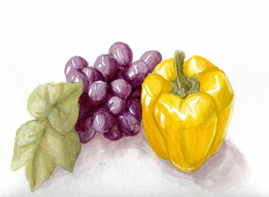 Watercolor Still Life By Unartistic License On Deviantart Great