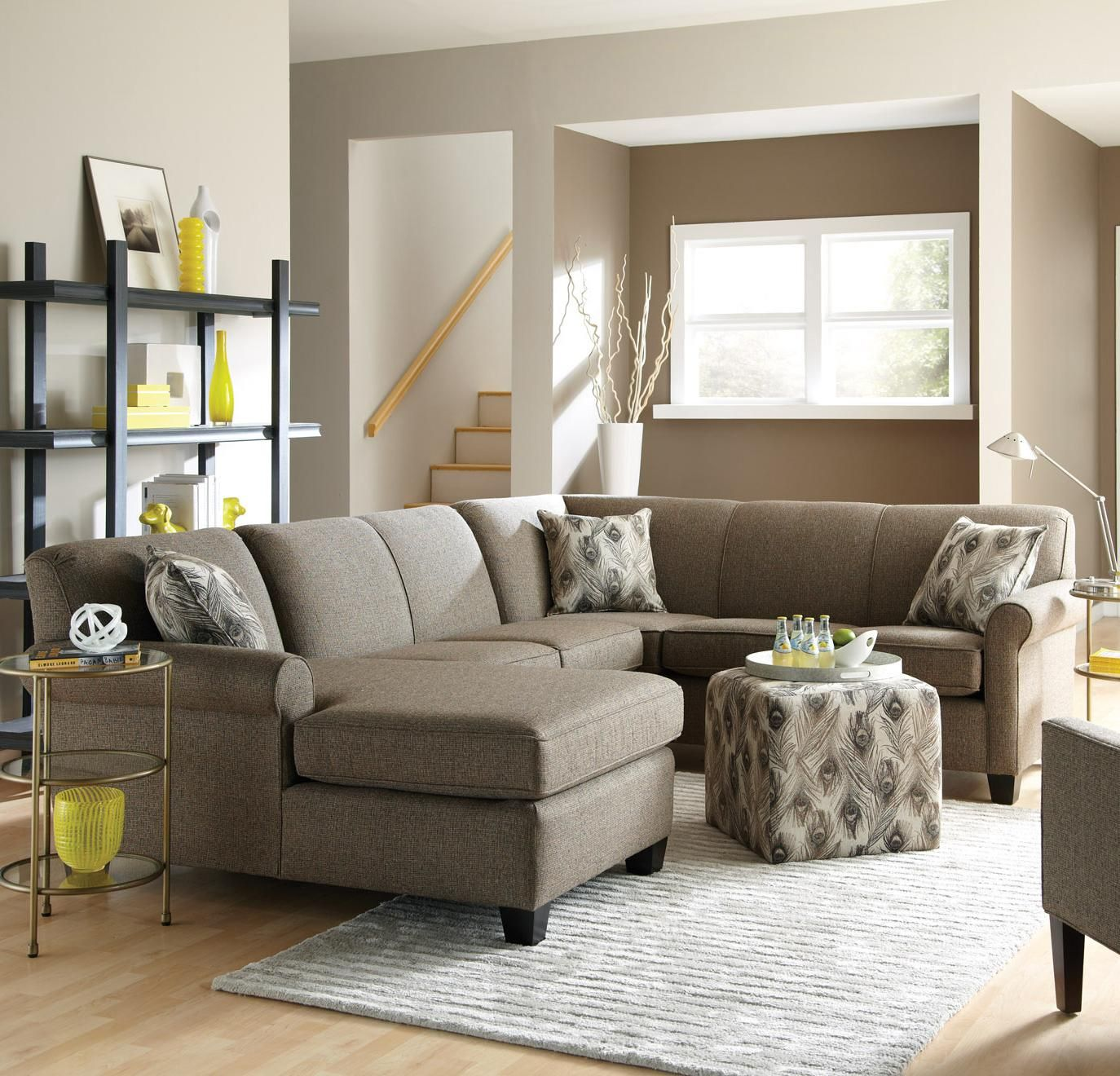 Best This Long Sectional Sofa Is An Ideal Choice For Family 640 x 480
