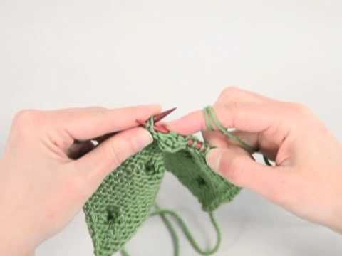 How to Knit a Bobble Stitch THIS IS AN EXCELLENT DEMONSTRATION OF THE BOBBLE ...
