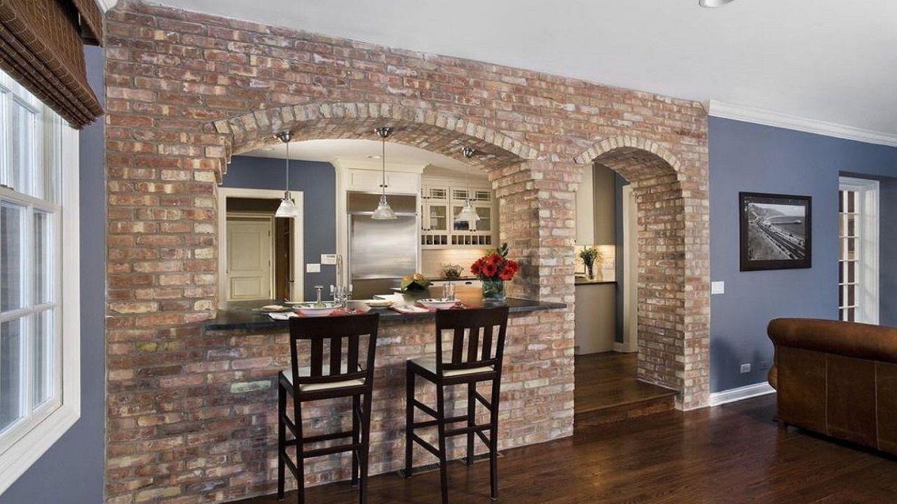15 Cocinas Con Arcos Que Te Van A Enamorar Cocinas Con Arcos Cocina Con Paredes De Ladrillo Cocinas Rusticas De Ladrillo