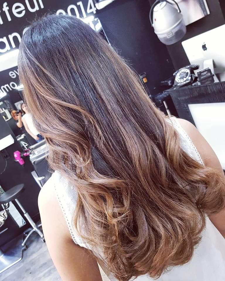 Epingle Sur Ombre Hair