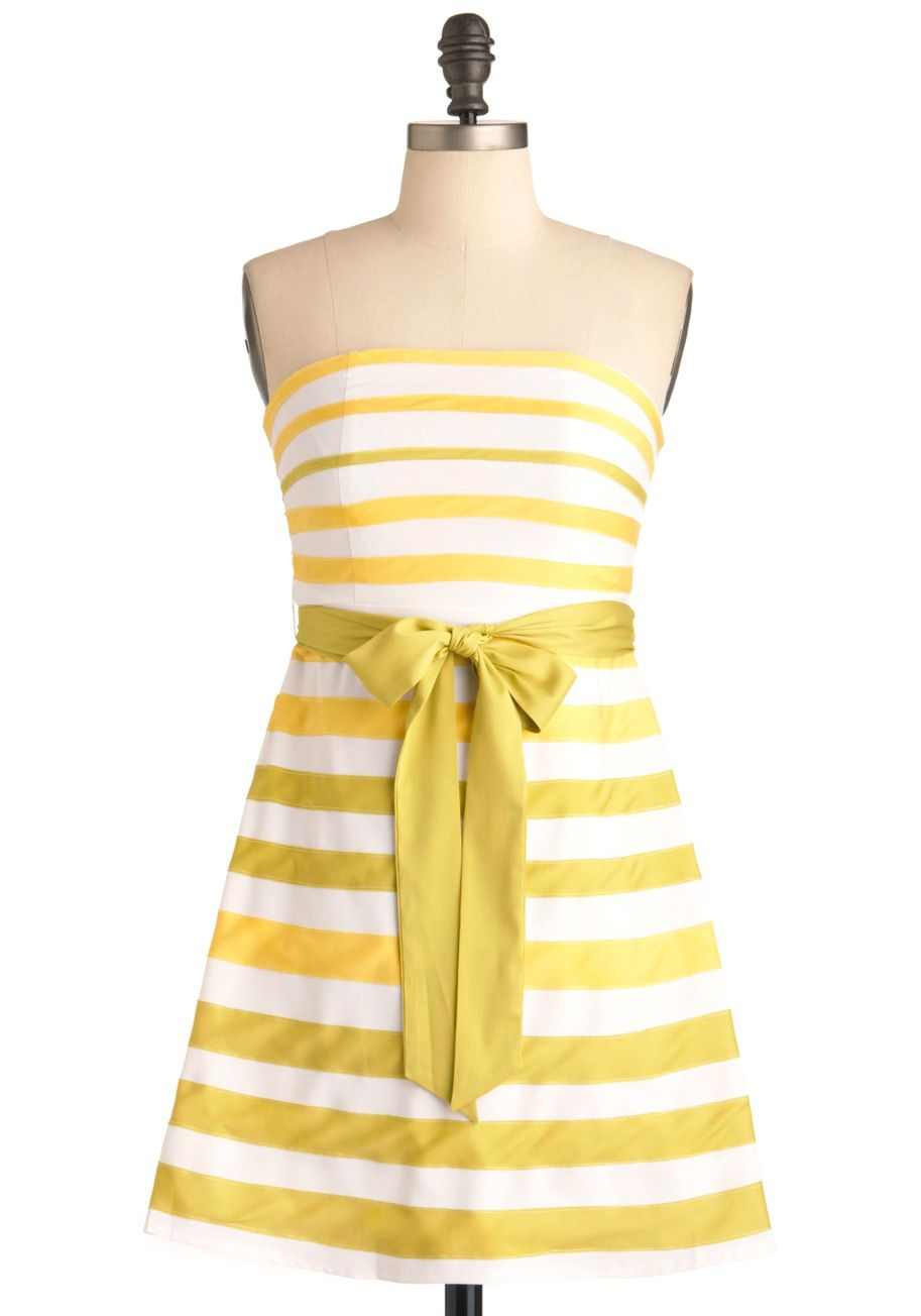 5dcf4fa602 Lemon-Limeade Dress - White