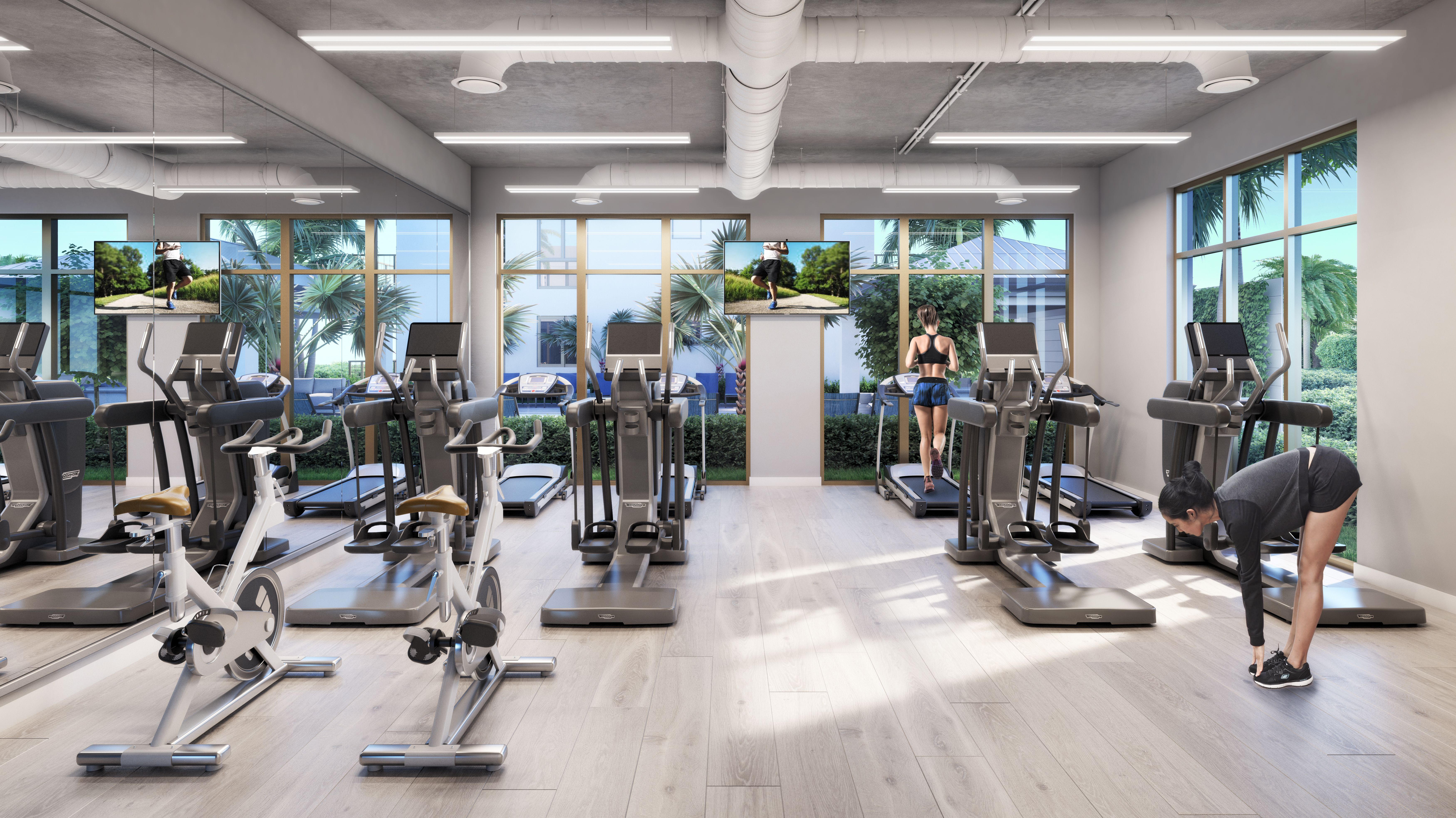 Gym At Shoma Village At Home Exercises Workout Rooms Gym