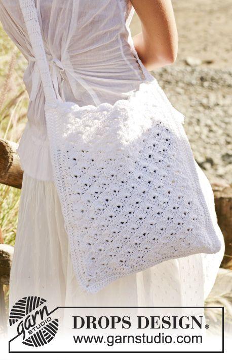 "In Lin Crochet ""bomull Bag Drops An1z8"