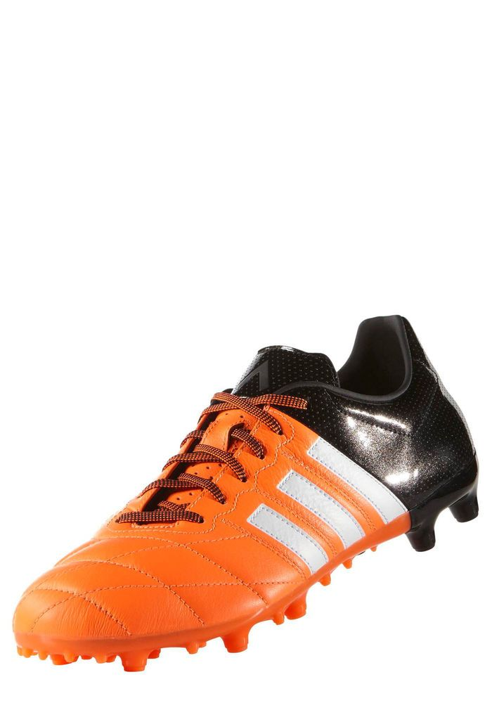 buy popular 4e05e b908e Football boots shoes Adidas Cleats Ace 15.3 FG AG Leat Orange 2015 Men.