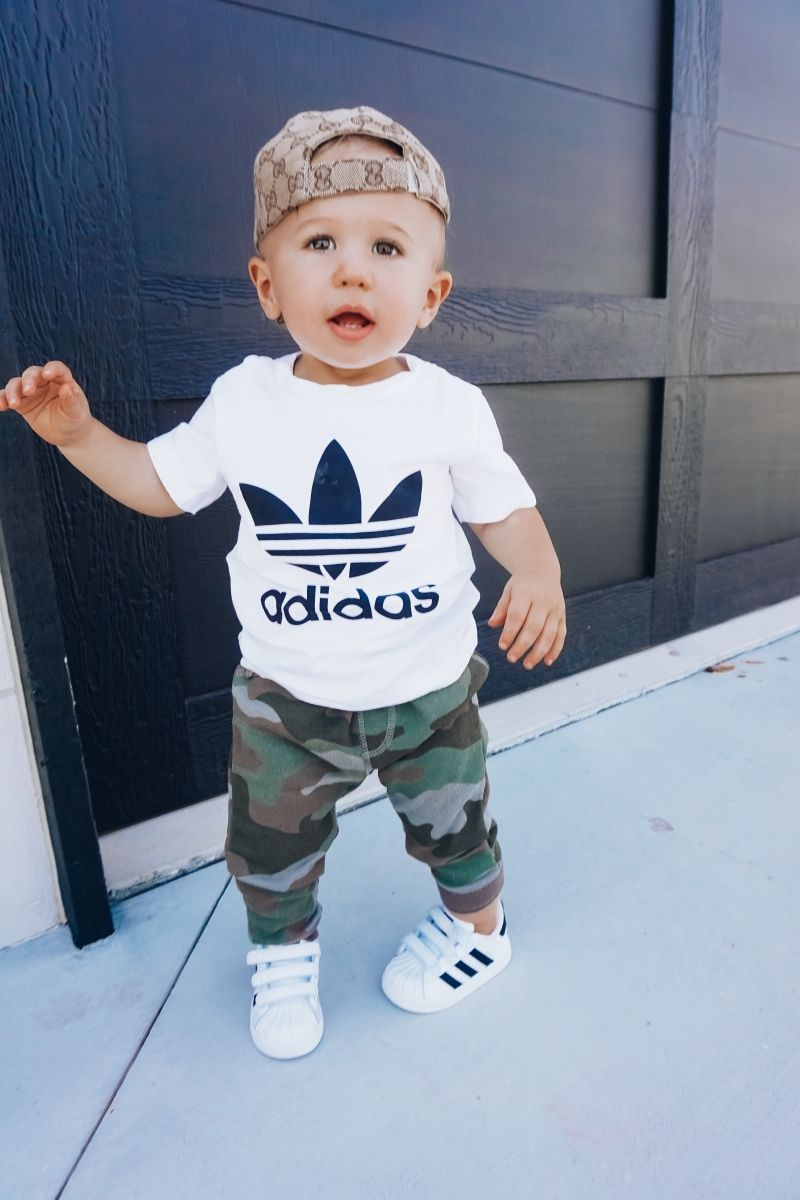 adidas shirt for baby