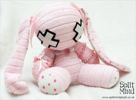 Emma Bunny by splitmindplush on DeviantArt #bunnyplush