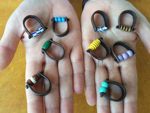 Custom order Kraz ring by EmCouros on Etsy