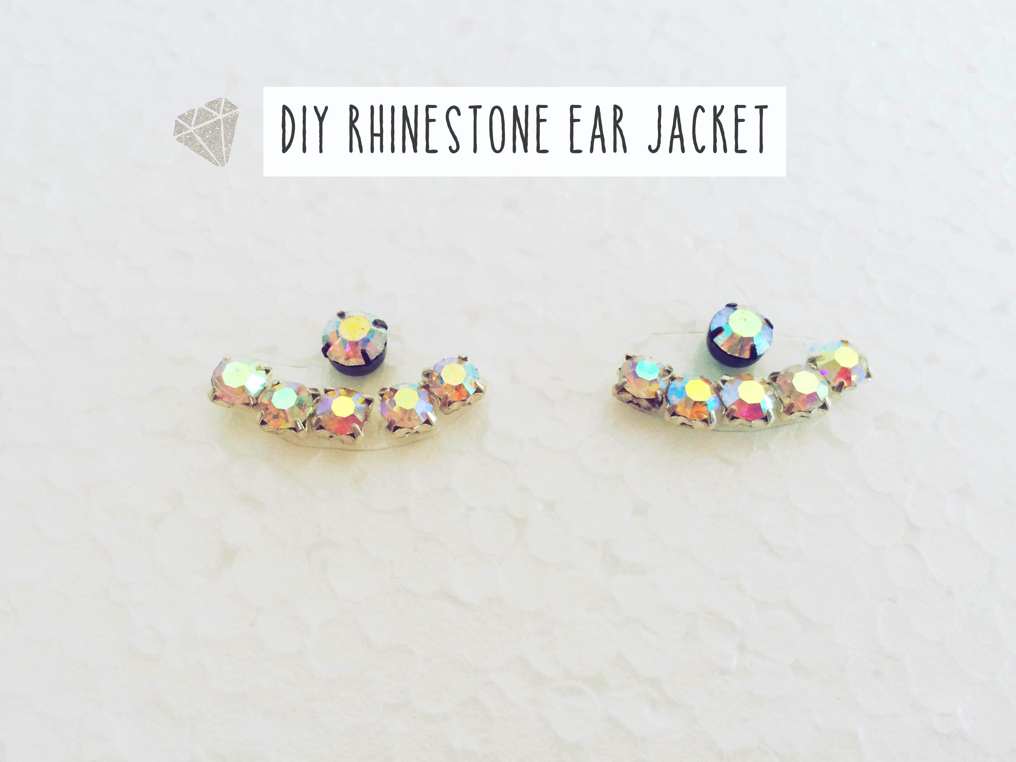 diy earring jacket | diy earrings, diys and handmade jewelry tutorials